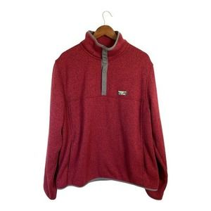 L.L. Bean Mens Slightly Fitted XL Pullover XL